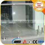 hot sale frameless glass balustrade spigot/frameless glass pool fencing spigot/glass stainless stell spigot