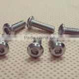 High quality standard stainless steel machine screws SL011 M3x20mm button screw from Hobby Carbon