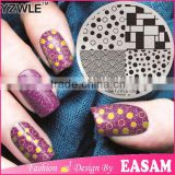 Negative Space Nail Art Stamping Stamp Template Image Plates Cool Triangle Nail Stamp Plate
