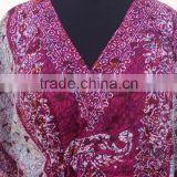 Multi design printed polyester beachwear ponchos & kaftan wear for girls & womans