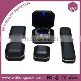 Metal LED Jewelry Box Bangle & Leather Jewel Boxes With LED Light In Stock