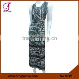 3612 Long Design Micoro Fiber Women New Dress
