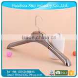 Hair extension hanger bags with clothes hanger labels ,copper hanger