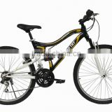 Hot selling bike aluminium mountain bike frame full suspension bike downhill