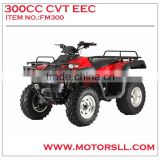 high quality Automatic 300CC EEC CVT ATV QUAD BIKE 4*4