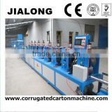 food banana carton box paper edge protector machine/ paper protector making machine/carton box making machine