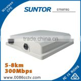 7km 5GHz Outdoor Audio Video Transmitter and Receiver CPE
