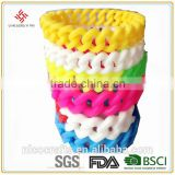 Cheap new design custom silicone /rubber bracelet / arm band / strap