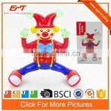 Funny battery operated dancing doll man toys with music&light