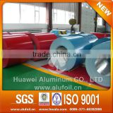 china aluminium manufacture roll coated prepainted aluminum coil/prepainted aluminum sheet in coil