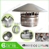 Ventilation air cap / waterproof air vent cap / roof cowl for kitchen smoke