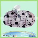 2014 newly disposable anti-heat restaurant table placemats