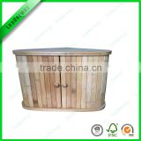 Totally bamboo durable and double large bread box for food storage