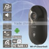 IP Camera Wi-Fi Video Doorphone with Two-way Intercom Support Free app and Android IOS System