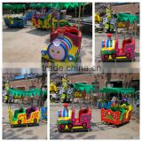 [Ali Brothers] Wholesale Price Children Loved Fiberglass Amusement Park Train Rides For Sale With 14 Seats