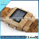 Vintage Digital Wood Watches for men china factory