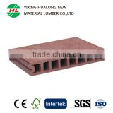 Hollow Wood Plastic Composite Decking High Quality WPC Outdoor Flooring WPC Boards for Garden Landscape