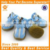 JML pet accessories dog product breathable mesh fabric pet shoes dogs in light blue sport shoes and sneakers