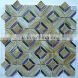 diamond shaped mosaic tile