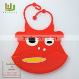 Wholesale silicone baby bandana drool bibs for Boys & Girls baby bibs with Waterproof Backing