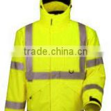 high reflective safety jacket ,waterproof reflective working jacket ,3M safety jacket for worker