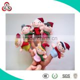 2015 Wholesale Soft Customed stuffed animals from china finger puppet