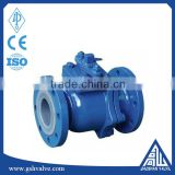 chemical resistant FEP lined ball valve
