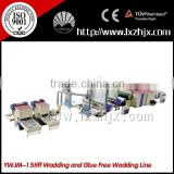 YWJM-1 production line for making nonwoven stiff waddings and glue-free waddings