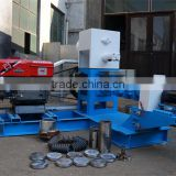 Hot selling single screw floating fish feed pellet extruder with diesel engine for farm use