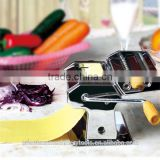 Manual 150mm stainless steel pasta maker for home use