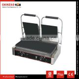 Industrial Professional New Best Hot Kitchen Equipment Chinzao Brand Electric Panini Grill for Salls