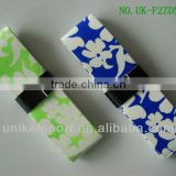 Colorful printing flower overgrips