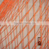 New coming plastic orange safety net, safety net for construction machine