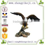 2015 chinese factory custom made handmade carved hot new products resin bird sculpture design