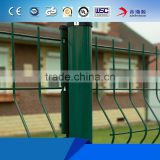 China High Quality cheap price hot dip galvanized PVC coated fence 3d models/triangle bending guardrail for sale