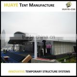 High Quality Aluminum Steel Structure Safest curve igloo dome tent