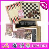 2015 New product travel game chess set backgammon toys for kids,Hot sell backgammon game toys for children WJ277095