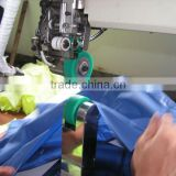 XT-M100 hot air seam sealing machine for Rainwear