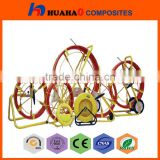 Optic fiber cable reel With High Quality Easy Handle Cable Laying Tools Cable Snake Conduit Duct
