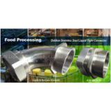 Delikon Stainless Steel Liquid Tight fittings for food processing industry cable protection