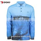 Oem Mesh Fabric Cheap Sublimated Custom Tournament Fishing Jerseys Wholesale Design