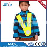 Blue kids reflective safety vest