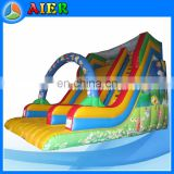 Full print bob inflatable slide