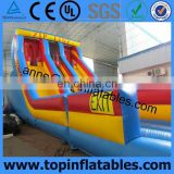 Adult and kids inflatable zip line obstacle course