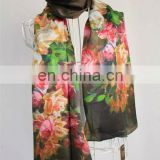 New Design Digital Printed Silk Scarf