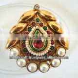 Indian polki rings - kundan polki rings - antique finger rings - one gram gold rings - wholesale online rings