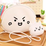 Beautiful & Cute Emotions Silicone Mini Coin Purse / Shoulder Bags for Ladies