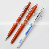 Gift promotion metal ball pens with custom logo advertising ballpoint pen personalized roller pen