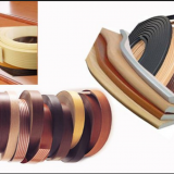 High Quality Woodgrain PVC Edge Banding/PVC Strips for Office Furniture