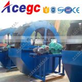 Wheel type sand washing machine marine sea sand washing plant